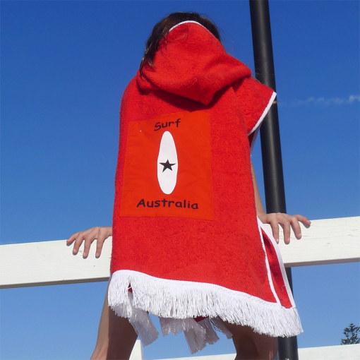 White-surf-on-Red-Towel