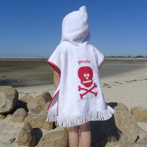 red on white pirate poncho copy
